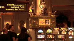 Casino Entrance-zoom-pan Stock Footage