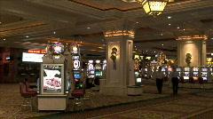 Casino People-ws Stock Footage