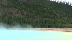 Colorful Mineral Pool-xws-zoom Stock Footage