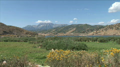 Deer Creek Reservoir-xws Stock Footage