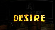 Desire Restaurant-zoom Stock Footage
