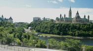 Stock Video Footage of Ottawa Parliament Hill