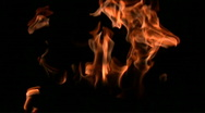 Flames slow motion V3 - HD Stock Footage