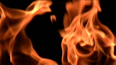 Flames slow motion V2 - HD Stock Footage