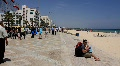 Seafront in Sousse, Tunisia Footage