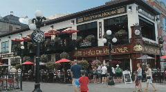 Ottawa Pub In The Byword Market Ottawa Canada Stock Footage