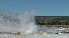 Geyser Field Stock Footage