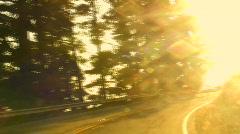 Highway 1 Big Sur POV V9 - HD Stock Footage