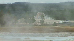 Geyser Mound-xws-zoom Stock Footage