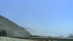 Stock Video Footage of Highway 1 Big Sur POV V7 - HD