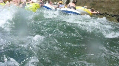 White Water Rafting - stock footage