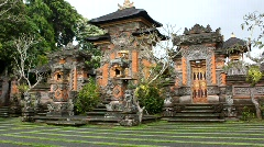 Temple in Bali Stock Footage