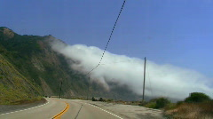 Highway 1 Big Sur POV V6 - HD - stock footage
