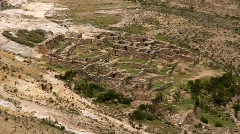 Inka ruins Stock Footage