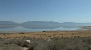 Great Salt Lake-xws-zoom Stock Footage