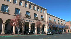 Hotel St. Francis-ws-pan Stock Footage