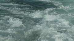 Turbulent sea beagle channel Stock Footage
