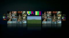 Full HD Virtual Studio - stock footage