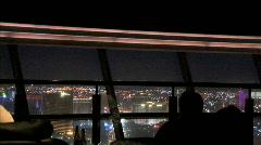 Las Vegas Bar Window-zoom Stock Footage