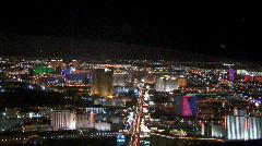 Las Vegas Blvd.-aerial-xws Stock Footage