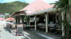 Le Bristro Cafe-pan - stock footage