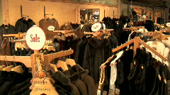 Leather Store-pan Stock Footage