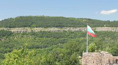 Bulgarian Flag Stock Footage