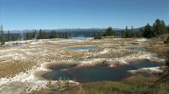 Mineral Pools-xws-zoom Stock Footage