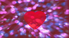 Heart Motion-graphic Stock Footage