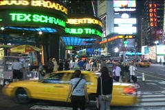Times Square 1 - Timelapse Stock Footage