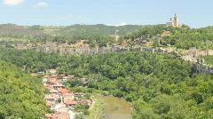Veliko Tarnovo, Bulgaria Stock Footage