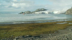 Antarctic landscape Livingston Island Stock Footage