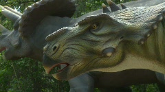 Dinosaur animatronic, #1 Stock Footage