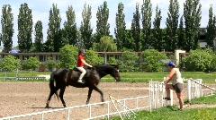 Equestrian sport Stock Footage