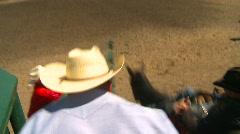 Rodeo, bareback bronc riding, #1 Stock Footage