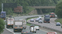 UK traffic / cars / road - Traffic009 1920x1080 - stock footage