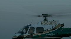 Aerial Sheriff Astar Push Stock Footage
