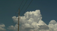 Telephone Pole Time Lapse Stock Footage