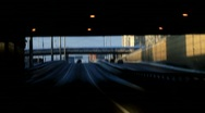 Driving out of tunnel - HD 1920 X 1080 Stock Footage