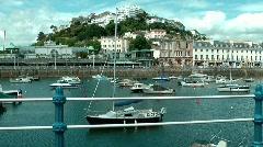Torquay Harbour Stock Footage