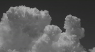 Monsoon BW Time Lapse Stock Footage
