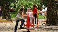 Children's playground HD Footage