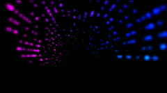 Abstract rotation ray light,web tech background.point pattern tech element. Stock Footage
