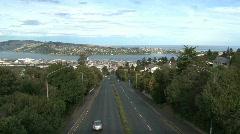 Street City Dunedin Stock Footage