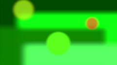 Green Dots Background Stock Footage