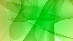Silky looped green curves HD1080 Stock Footage
