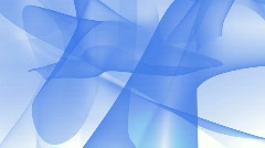 Silky looped blue curves HD1080 Stock Footage