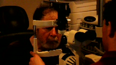 Stock Video Footage of Eye Exam