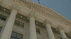 Salt Lake City Capital Building 12 Stock Footage