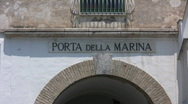 Stock Video Footage of Italy - Amalfi - Porta della Marina